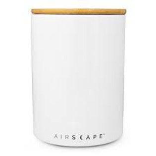 Airscape Ceramic 32 oz Coffee Storage - White
