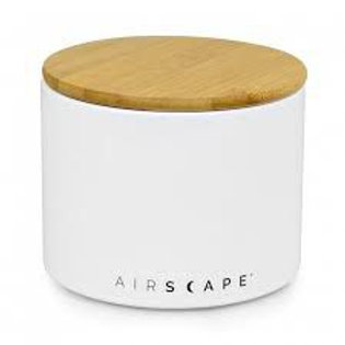 Airscape Ceramic 32 oz Coffee Storage - White
