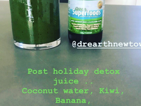 Post Holiday Detox Juice