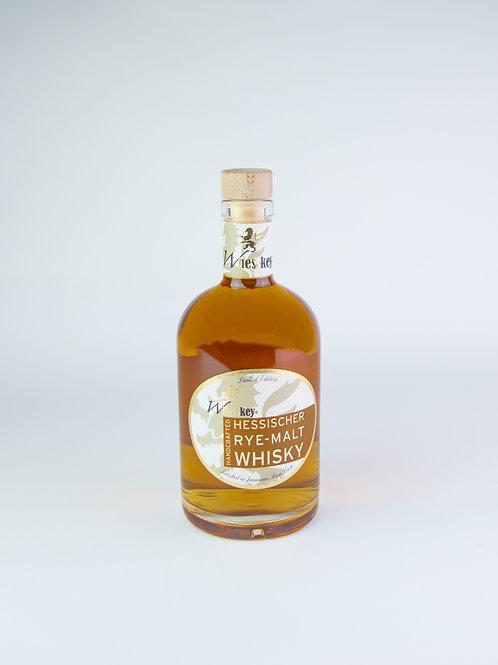 Rye-Malt Whisky aus dem Jamaica Rumfass 0,5 Liter