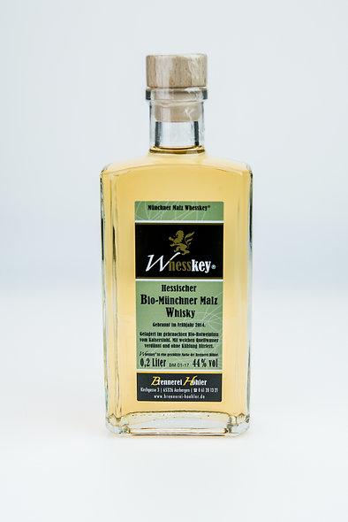 BIO Münchner Malz Whesskey® 0,2 Ltr. 44 %vol.