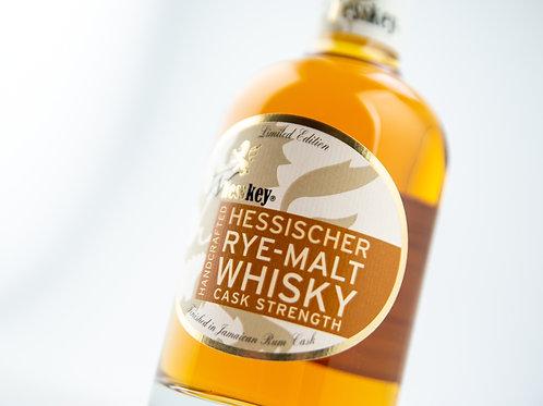 Rye-Malt Whesskey® aus dem Jamaica Rumfass 35 cl 61,8% vol.
