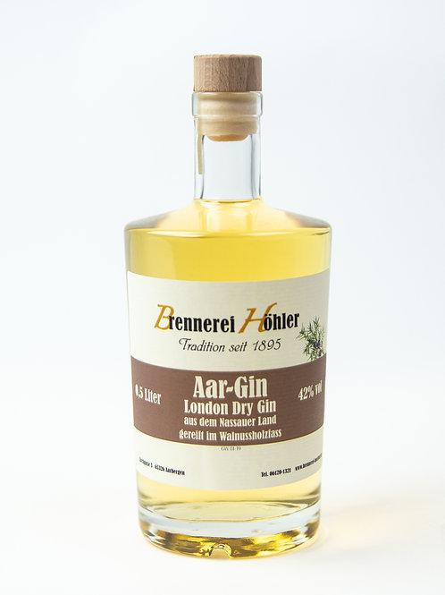 Kettenbacher Gin aus dem Walnussholzfass  0,5 Liter