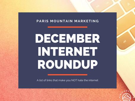 December Internet Roundup: To Make You Smile