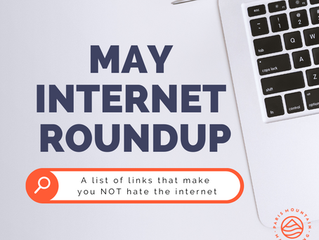 May Internet Roundup: Here Comes the Sun