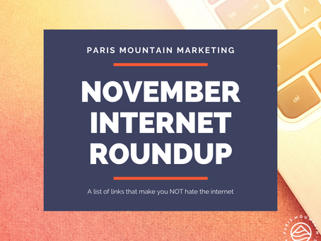 November Internet Roundup: 5 Links We Loved This Month