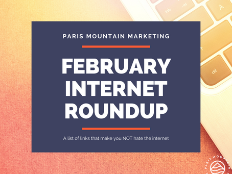 February Internet Roundup: Stayin' Alive
