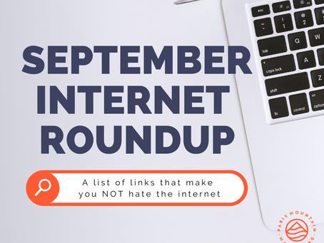 September Internet Roundup