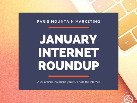 January 2021 Internet Roundup: All Eyes on Inauguration Day