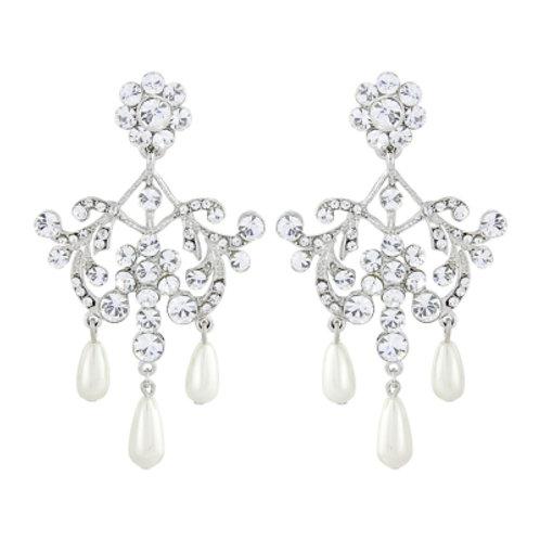Lucy pearl drop earrings