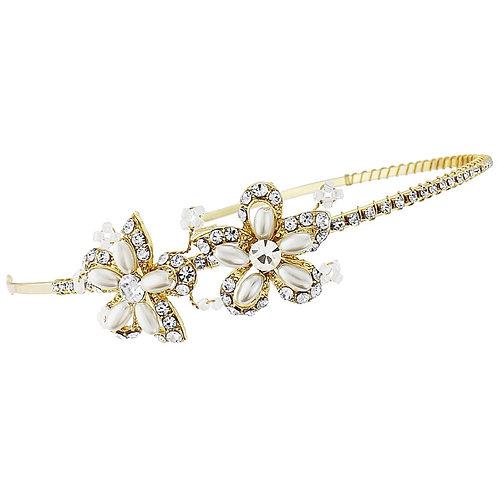 Elspeth vintage gold plated headband