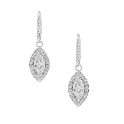 Victoria Cubic Zirconia drop earrings