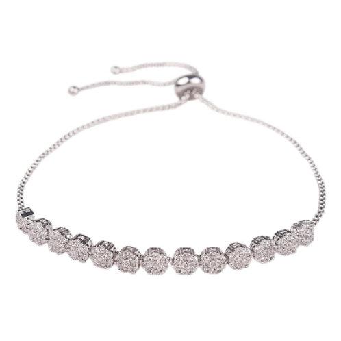 Eloise cubic zirconia bracelet