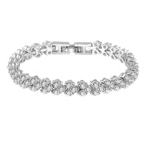 Elizabeth Cubic zirconia Bracelet