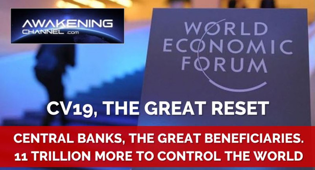 11 TRILLION of more DEBT TO CONTROL THE WORLD. Central Banks, The Great Beneficiaries.