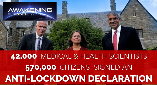 42,000 Medical & Health Scientists and 570,000 Citizens Signed an Anti-Lockdown Declaration