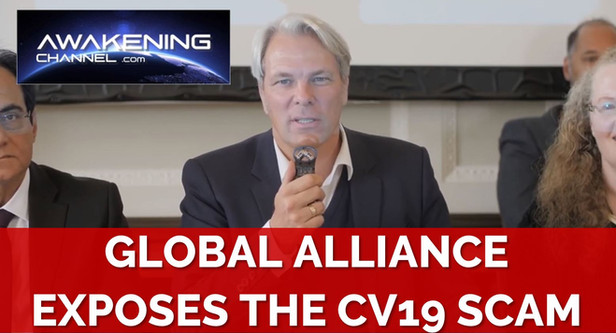 Global alliance exposes the CV19 scam