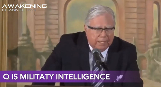 Harvard PhD Jerome Corsi, ´Q is military intelligence´