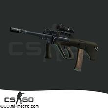 Макрос на AUG для игры Counter-Strike: GO