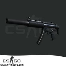 Макрос на MP5SD для игры Counter-Strike: GO