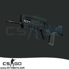 Макрос на FAMAS для игры Counter-Strike: GO