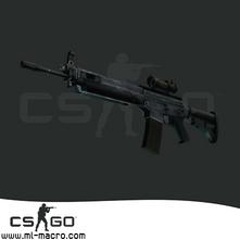 Макрос на SG 553 для игры Counter-Strike: GO
