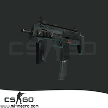 Макрос на MP7 для игры Counter-Strike: GO