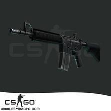 Макрос на M4A4 для игры Counter-Strike: GO
