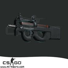 Макрос на P90 для игры Counter-Strike: GO