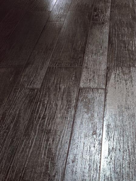 Tagina Lignite Grafite 20x80 cm legno metallizzato