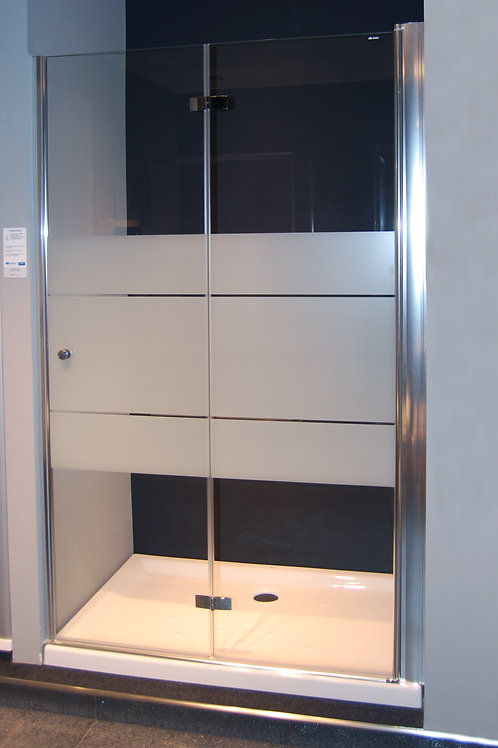 Box doccia porta a soffietto 120 cm per nicchia Duka Multi-S 4000