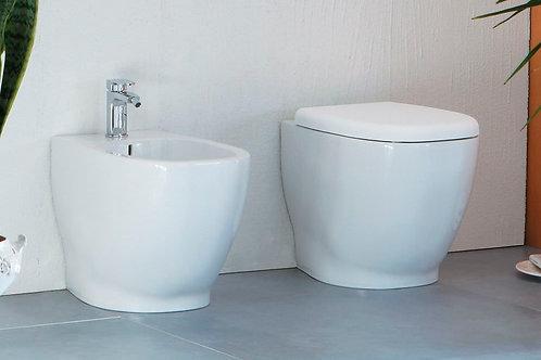 Sanitari Disegno Ceramica Weg a terra bagno
