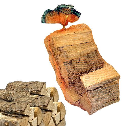 Sacco 15 kg Legna da Ardere Carpino 25 - 33 cm