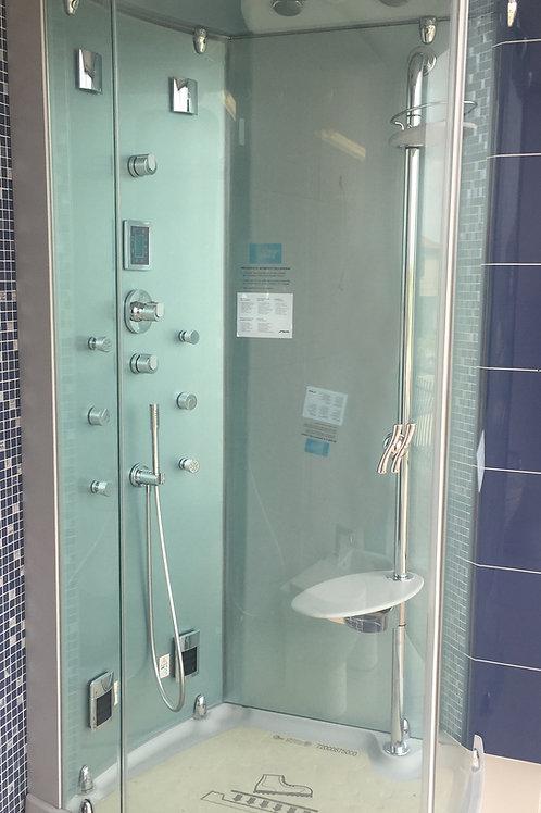 Cabina doccia idromassaggio multifunzione Teuco Evolution 120x90 cm