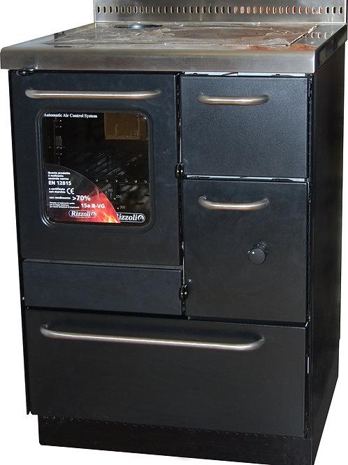 Cucina a legna con forno Rizzoli RA60 CF 7,5 kW