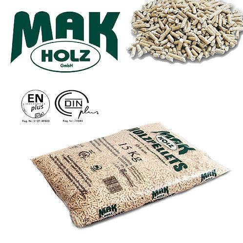 Pellet MAK HOLZ sacco 15 kg