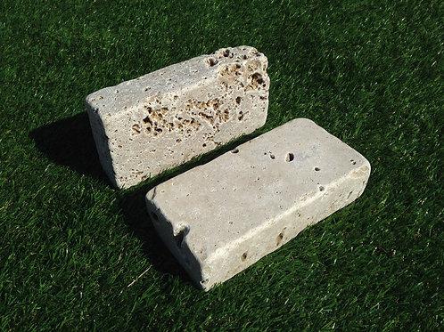 Mattoni in marmo di Travertino Noce