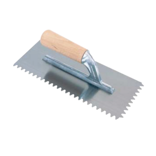 Spatola dentata 28x12 cm dente a V Raimondi