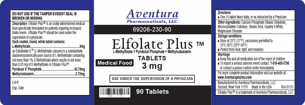 Elfolate Plus label
