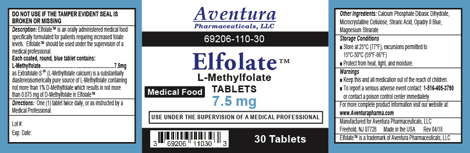 ELFOLATE 7.5 MG Label