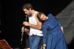 Performance in Rostock, Deutschland - 2015