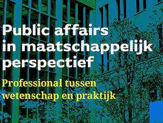 Nieuw boek over public affairs verschijnt 29 augustus
