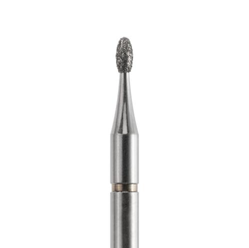 Фреза алмазная, яйцевидная Ø 1,4 мм со средней зернистостью
