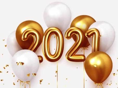 Начинаем нашу новую крутую историю 2021 года с подарков!