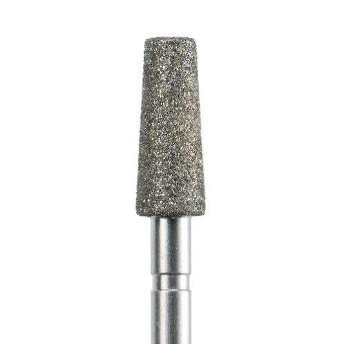 Фреза алмазная усечённый конус, Ø 4 мм со средней зернистость