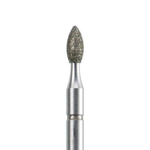Фреза алмазная, бутонообразная, Ø 2,3 мм со средней зернистостью
