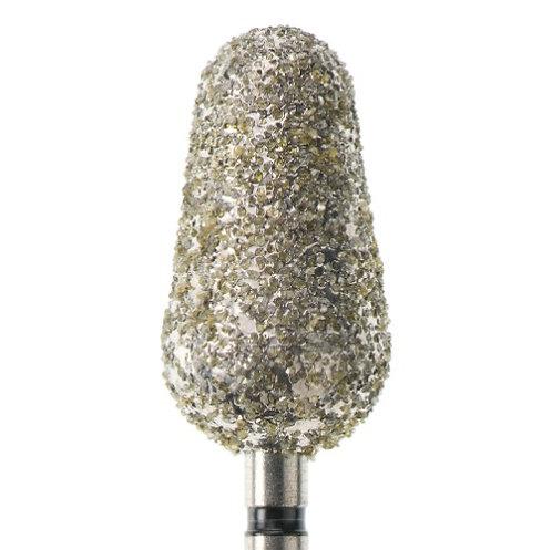 Фреза алмазная, бутонообразная, Ø 8 мм с суперкрупной зернистостью