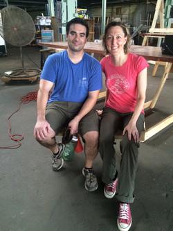 Couple at DIY