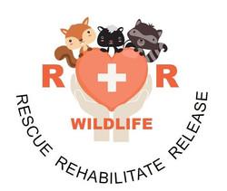 R+R Wildlife Rehabilitation Logo