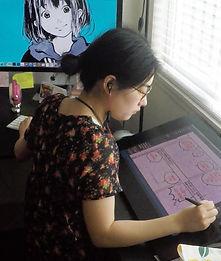 ArisaN_DrawingManga.jpg